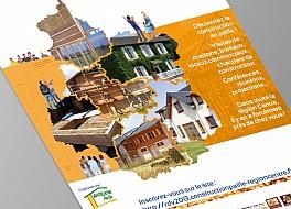 Affiche des RDV de la construction en paille en Région Centre